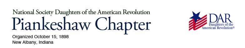 Piankeshaw Chapter of the National Society Daughters of the American Revolution